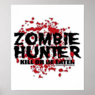 Cazador del zombi poster