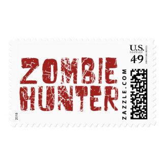 cazador del zombi sello