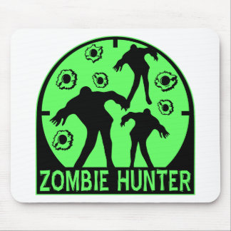 Cazador del zombi tapetes de raton