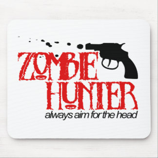 Cazador del zombi tapetes de ratones