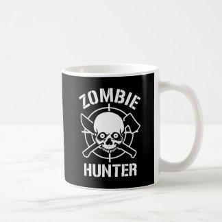 Cazador del zombi taza de café