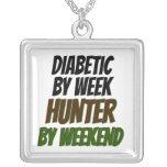 Cazador diabético colgante personalizado