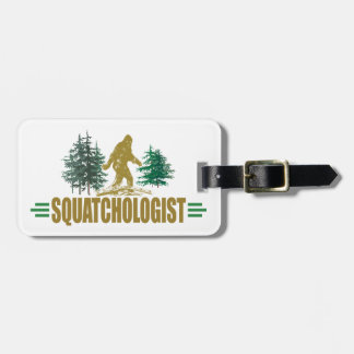 Cazador divertido de Sasquatch Etiquetas Bolsas