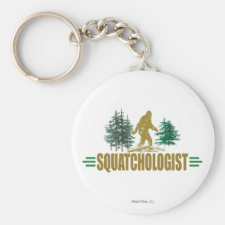 Cazador divertido de Sasquatch Llaveros Personalizados