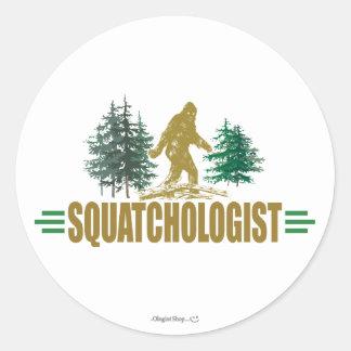 Cazador divertido de Sasquatch Pegatina
