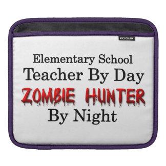 Cazador elemental del profesor de escuela/del zomb fundas para iPads