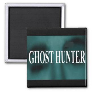 Cazador fantasmagórico del fantasma imán cuadrado