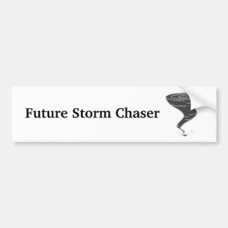 Cazador futuro de la tormenta - pegatina para el pegatina para auto