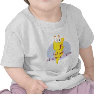 Cazador futuro de la tormenta camiseta