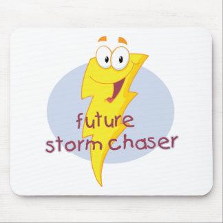 Cazador futuro de la tormenta tapetes de raton