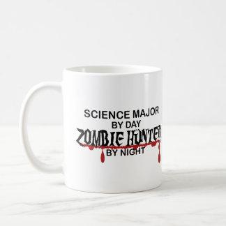 Cazador importante del zombi de la ciencia taza de café