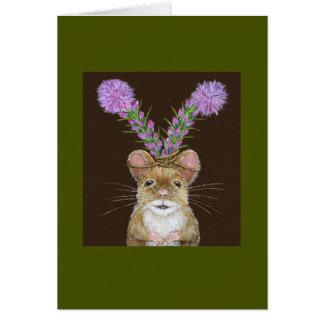 Cazador la tarjeta del ratón