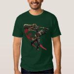 Cazador masculino con la gran armadura de la camisas