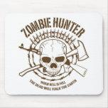 Cazador Mousepad del zombi Tapete De Ratones