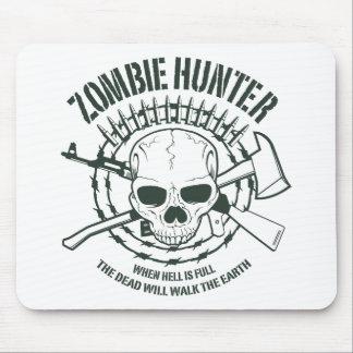 Cazador Mousepad del zombi Alfombrillas De Ratones