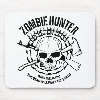 Cazador Mousepad del zombi Tapete De Raton