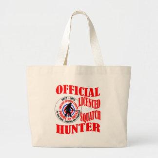 Cazador oficial del squatch bolsas