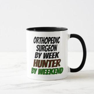 Cazador ortopédico del cirujano taza