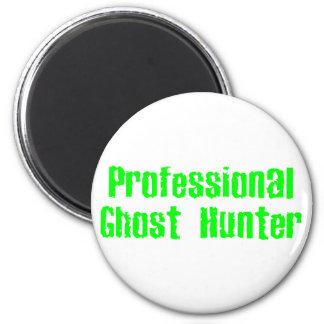 Cazador profesional del fantasma imán redondo 5 cm