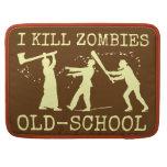 Cazador retro divertido del asesino del zombi de funda para macbook pro