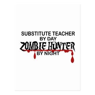 Cazador sub del zombi del profesor postal
