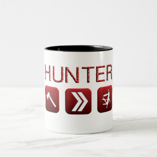 cazador taza de dos tonos