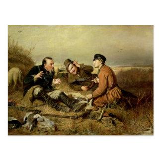 Cazadores, 1816 postal