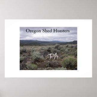 Cazadores 2 de la vertiente de Oregon Póster