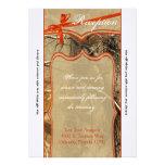 cazadores Camoflouge de la tarjeta de la recepción Invitaciones Personales