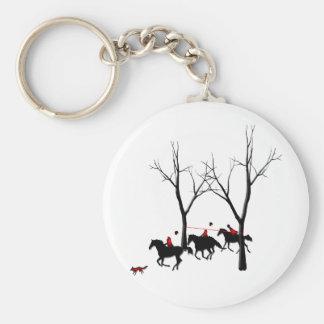 cazadores cazados llavero redondo tipo pin
