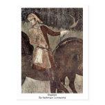 Cazadores de Ambrogio Lorenzetti Postales