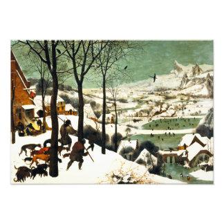 Cazadores de Pieter Bruegel en la nieve Arte Con Fotos