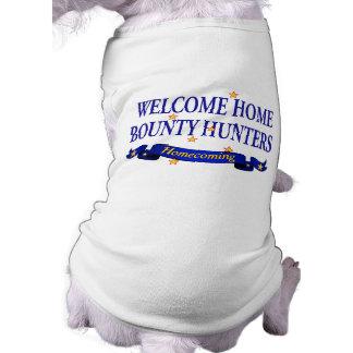 Cazadores de tesoros caseros agradables camiseta de perrito