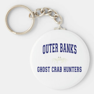 Cazadores del cangrejo del fantasma llaveros personalizados