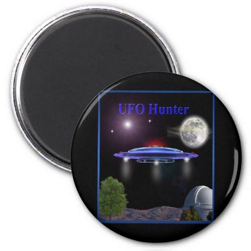 Cazadores del UFO Iman Para Frigorífico