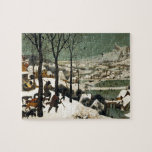 Cazadores en la nieve de Pieter Bruegel la anciano Puzzles Con Fotos