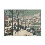 Cazadores en la nieve - enero de 1565 iPad mini fundas