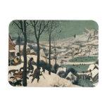 Cazadores en la nieve - enero de 1565 imán