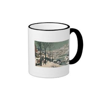 Cazadores en la nieve - enero de 1565 taza de dos colores