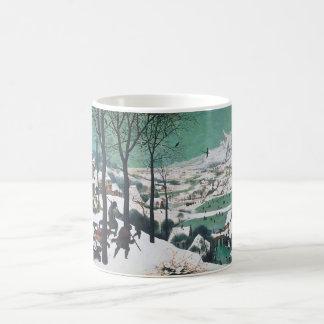 Cazadores en la nieve por Bruegel Tazas De Café