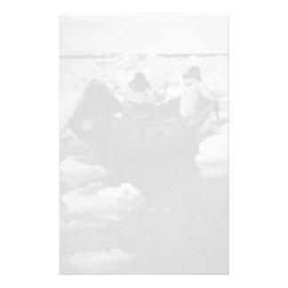 Cazadores esquimales 1970 de los E.E.U.U. Alaska Papelería