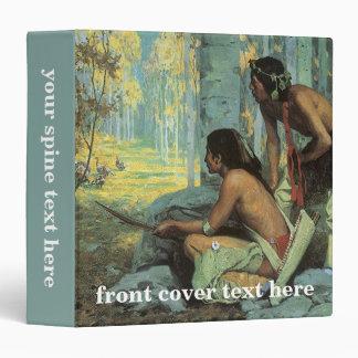 """Cazadores por Couse, indios de Taos Turquía del Carpeta 1 1/2"""""""