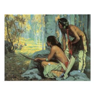 Cazadores por Couse indios de Taos Turquía del Invitación
