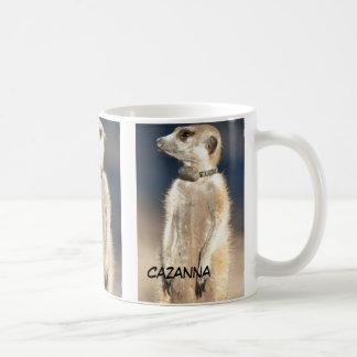 Cazanna meerkat mug