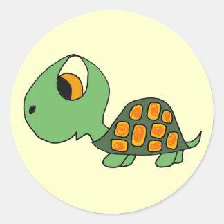 CB- Cartoon Turtle Stickers