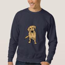CB- Cute Yellow Labrador Sweatshirt