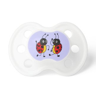 CB- Dancing Ladybugs Baby Pacifier