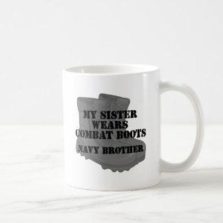 CB de la hermana de Brother de la marina de guerra Taza Clásica