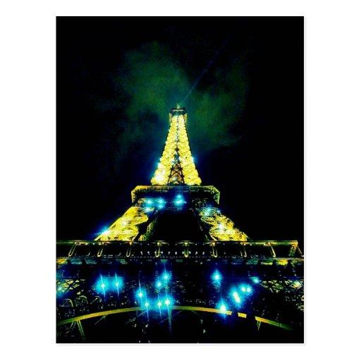 CB de la torre Eiffel Postales