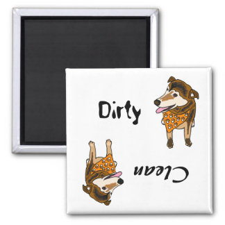 CB- Dirty Paws Dishwasher Magnet